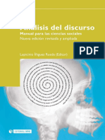Analisis Del Discurso Manual Para Las Ciencias Sociales - Iñiquez