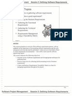 Session 3 - Defining Software Requirements