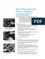 Rear Seal Replacement