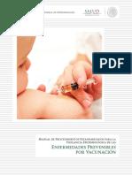 Manual de Enfermedades Prevenibles Por Vacunación