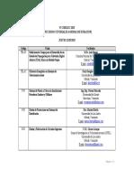 CIBELEC 2015 Programacion Minicursos