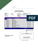Kartu Ujian Mahasiswa