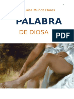 Palabra de Diosa Ana Luisa Muñoz Flores