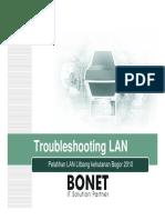 Troubleshooting LAN