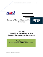 ETR422 Assignment.teaching.reading.sep2015