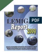 Laporan Lemigas 2009