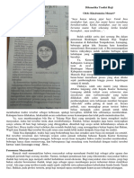 Tradisi Haji (Perspektif, Jawa Pos Radar Jember, 26 Agustus 2015, Hlm. 1)