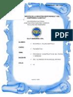 2.- Procesos Constructivos en Pistas y Veredas - CALDAS