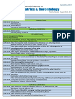 Geriatrics 2015 Program