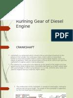 Running Gear of Diesel Engine zz