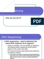 Lec 15 DNA Sequencing