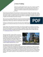 «Inicio» mercado Forex Trading