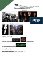 Metal Bulletin Zine 70