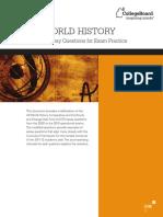 WorldHistory Modified Essay Q