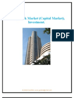 Share, Stock Market(Capital Market), Investment