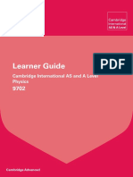 9702 Physics Learner Guide 2015