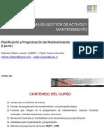 Planificacion y Programacion de Mantenimiento 1 Parte