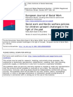 10. Social Work and Nordic Welfare Policies for Children
