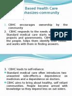 Community Based Health Care