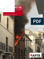 Víctimas incendios en España 2014
