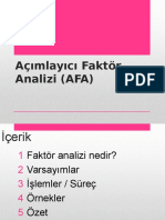 faktoranalizi