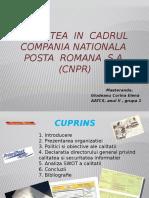 CNPR - Calitate - Glodeanu Corina