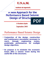 A New Approach for the Performance Base Seismic Deisgn of Structure - A. G. Ayala