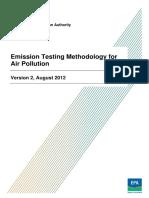 Emission Manual