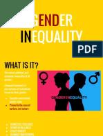 art gender inequality