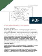 Mapa España Vertientes Hidrográficas