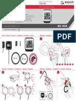 Manual Sigma Ciclocomputador