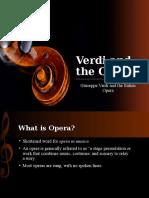 Verdi and the Opera
