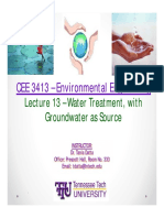 Lecture 9 - Groundwater Pollution and Treatment.markup