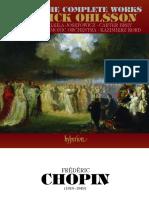 Listado de obras completas de Chopin