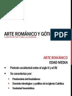 Arte Románico y Gótico