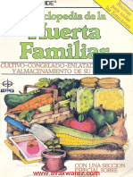 Enciclopedia de La Huerta Familiar