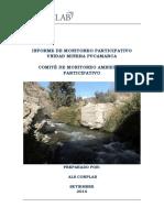 Informe de Monitoreo Ambiental Participativo en Mina Pucamarca - Setiembre 2014