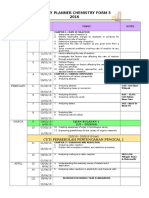 Yearly Planner Chem Form 5 2016