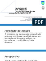Ethos No Discurso Midiático_claudia Sousa