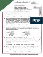Newtonian Mechanics 5