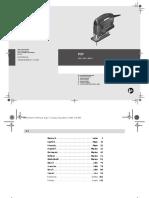 Bosch pst 680E user manual
