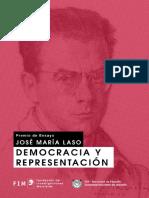 2015 01 Premio Ensayo Laso Democracia Representacion