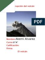 La Erupción Del Volcán