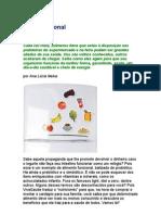 Dieta funcional - nutrição - Ana Lucia Neiva - alimentos frescos e integrais