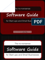 The No Nonsense Software Guide for Start-ups and Small businesses