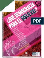Que Democracia para El Siglo Xxi