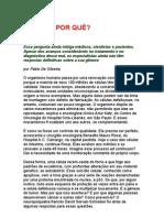 CÂNCER Por quê - Fábio de Oliveira - medicina, sono reparador, exercícios físicos