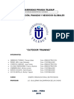 Outdoor Training Final