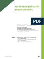 Tecnicas Deadministracion de Medicamentos