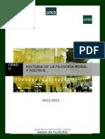 Guia II Historia Filosofía Moral y Política (Grado en Filosofía)
